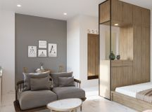 Modern And Youthful: 4 Small Apartments With Fierce Style images 1