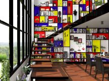 Piet Mondrian Inspired Interior Design To Give Your Home The De Stijl Flair images 38