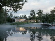 Finnish Villa With Glass Walls And Private Pier images 19