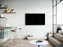 Modern And Youthful: 4 Small Apartments With Fierce Style images 14