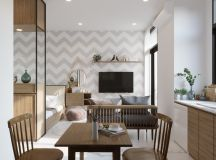 Modern And Youthful: 4 Small Apartments With Fierce Style images 0