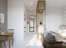 Modern And Youthful: 4 Small Apartments With Fierce Style images 2