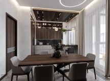 Luxurious Interior With Wood Slat Walls images 6