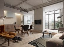 Modern And Youthful: 4 Small Apartments With Fierce Style images 5