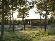 Finnish Villa With Glass Walls And Private Pier images 16