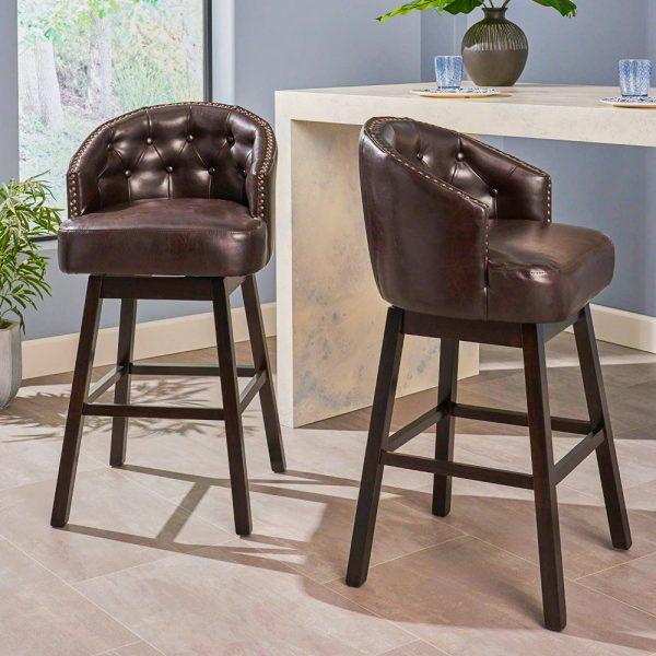 Fantastic 51 Swivel Bar Stools To Go With Any Decor Architectural Inzonedesignstudio Interior Chair Design Inzonedesignstudiocom