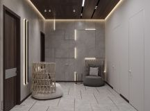 Luxurious Interior With Wood Slat Walls images 30