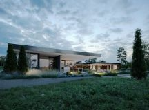 Finnish Villa With Glass Walls And Private Pier images 15