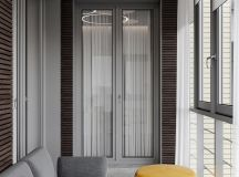 Luxurious Interior With Wood Slat Walls images 34