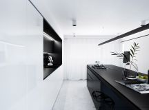 50 Gorgeous Galley Kitchens And Tips You Can Use From Them images 11