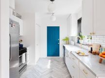 50 Gorgeous Galley Kitchens And Tips You Can Use From Them images 32