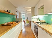 50 Gorgeous Galley Kitchens And Tips You Can Use From Them images 6