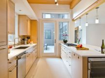 50 Gorgeous Galley Kitchens And Tips You Can Use From Them images 31