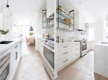 50 Gorgeous Galley Kitchens And Tips You Can Use From Them images 13