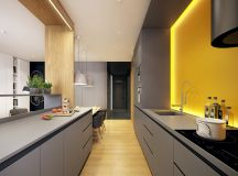 50 Gorgeous Galley Kitchens And Tips You Can Use From Them images 3