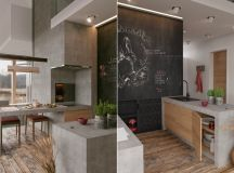 50 Gorgeous Galley Kitchens And Tips You Can Use From Them images 22