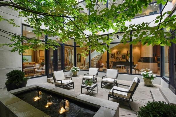 captivating courtyard design