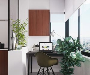 Two Different Methods of Dividing A Studio Apartment