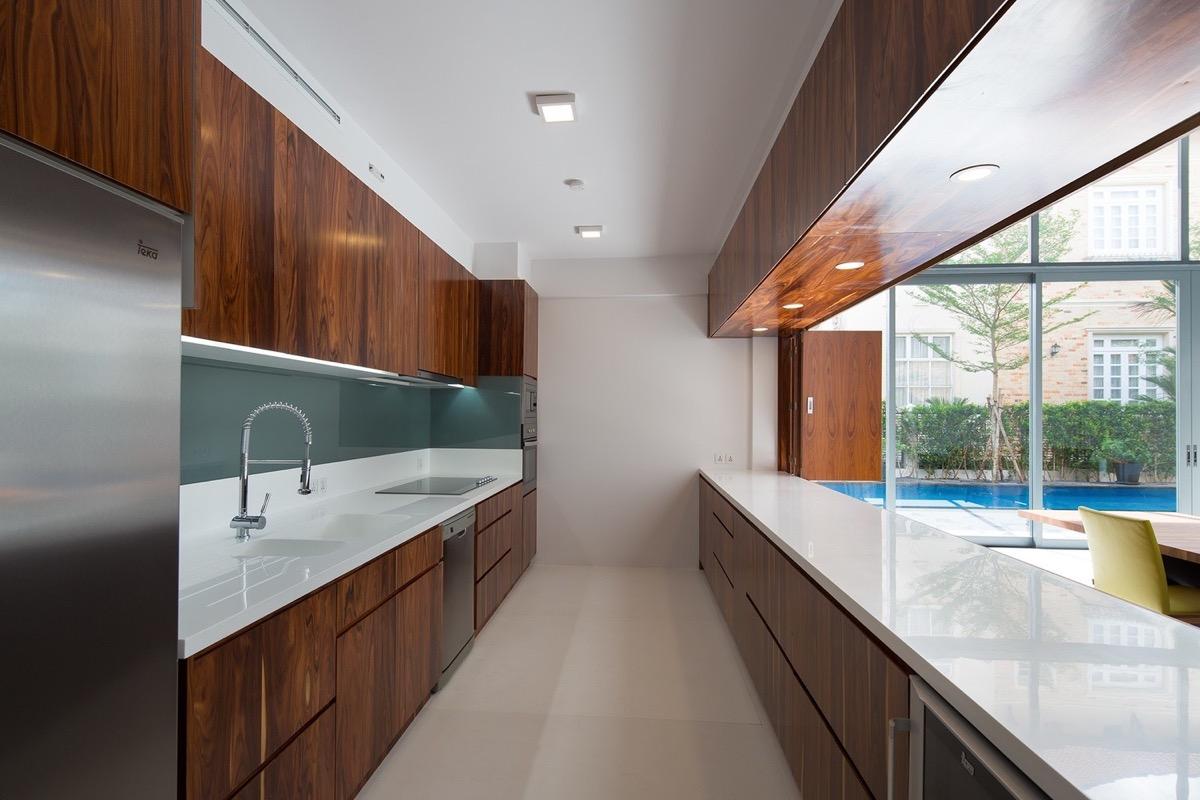 Modern Galley Kitchen Design