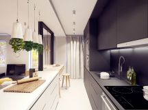 50 Gorgeous Galley Kitchens And Tips You Can Use From Them images 47