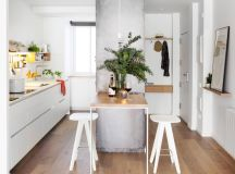 50 Gorgeous Galley Kitchens And Tips You Can Use From Them images 42