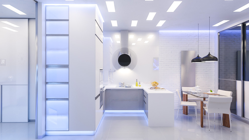 Small U Shaped Modular Kitchen Design Novocom Top