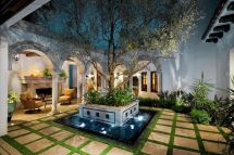Spanish Home Design With Courtyards Flisol