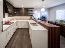 50 Unique U-Shaped Kitchens And Tips You Can Use From Them images 42