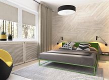 Green And Yellow Accent Interior In Moscow images 14