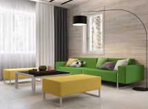 Green And Yellow Accent Interior In Moscow images 0