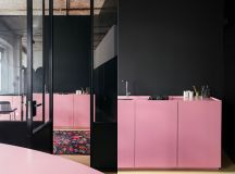 51 Inspirational Pink Kitchens With Tips & Accessories To Help You Design Yours images 23