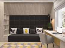 Green And Yellow Accent Interior In Moscow images 22