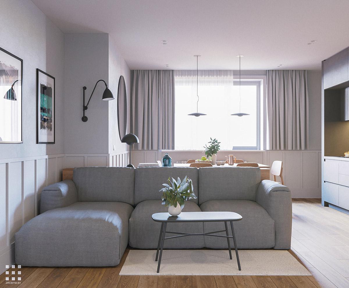 Small & Serene Family Apartment in Minsk