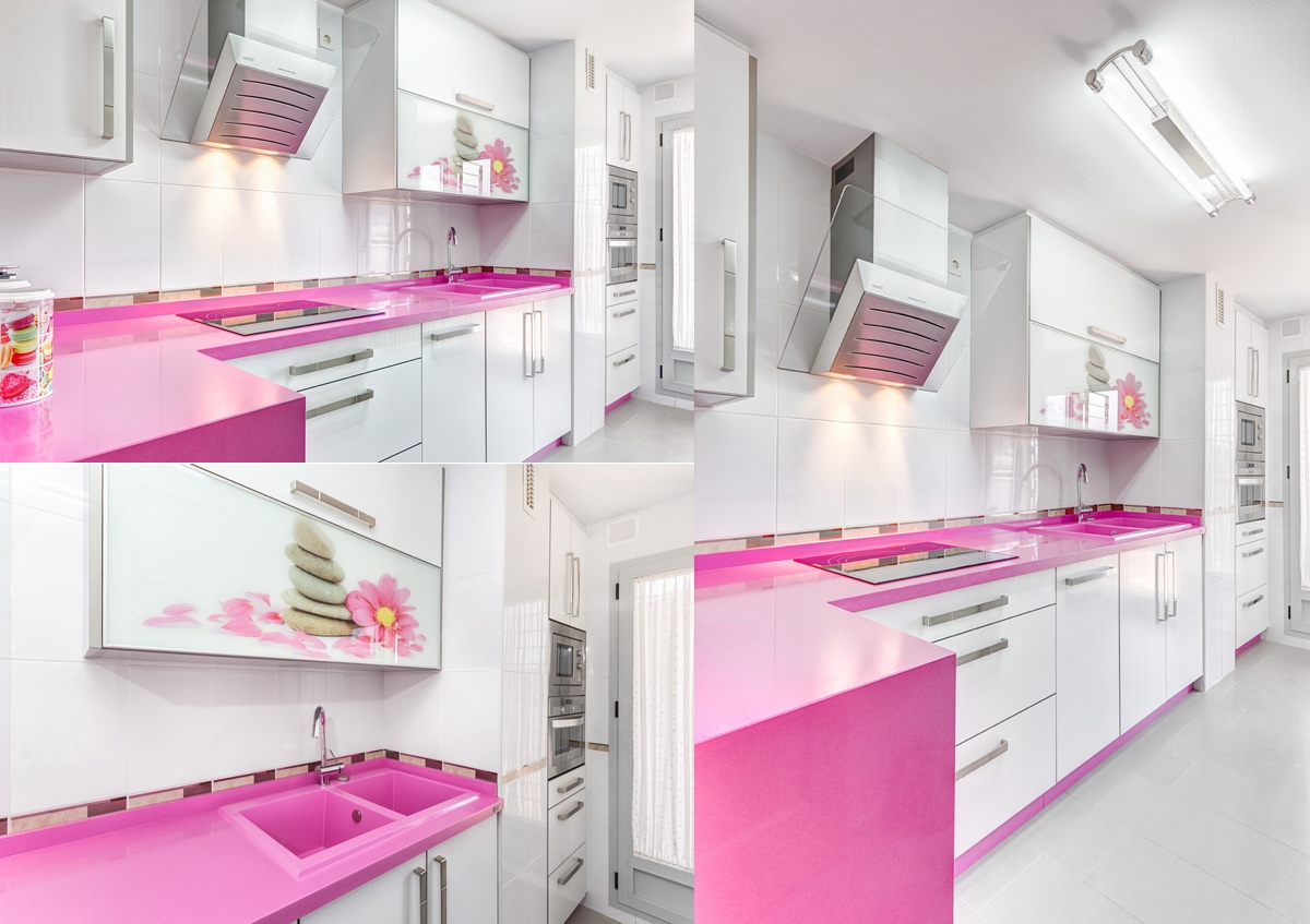pink countertops kitchen aid mixer cream 51 inspirational kitchens with tips and accessories to