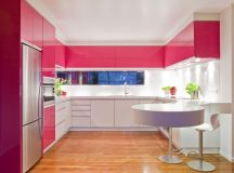 51 Inspirational Pink Kitchens With Tips & Accessories To Help You Design Yours images 43