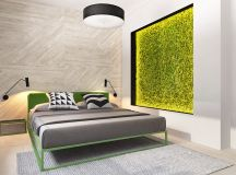 Green And Yellow Accent Interior In Moscow images 15
