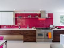 51 Inspirational Pink Kitchens With Tips & Accessories To Help You Design Yours images 42