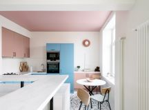 51 Inspirational Pink Kitchens With Tips & Accessories To Help You Design Yours images 12