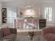 51 Inspirational Pink Kitchens With Tips & Accessories To Help You Design Yours images 10