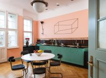 51 Inspirational Pink Kitchens With Tips & Accessories To Help You Design Yours images 14