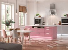 51 Inspirational Pink Kitchens With Tips & Accessories To Help You Design Yours images 19