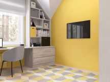 Green And Yellow Accent Interior In Moscow images 25