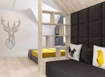 Green And Yellow Accent Interior In Moscow images 21