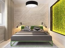Green And Yellow Accent Interior In Moscow images 13