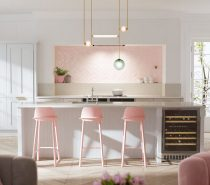 pastel-pink-kitchen-inspiration-ideas-210x185 Home Of Surreal Interiors & Modern Empire Style Upholstery in Victoria