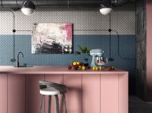 51 Inspirational Pink Kitchens With Tips & Accessories To Help You Design Yours images 27