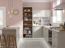51 Inspirational Pink Kitchens With Tips & Accessories To Help You Design Yours images 3