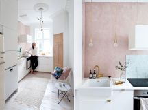 51 Inspirational Pink Kitchens With Tips & Accessories To Help You Design Yours images 30