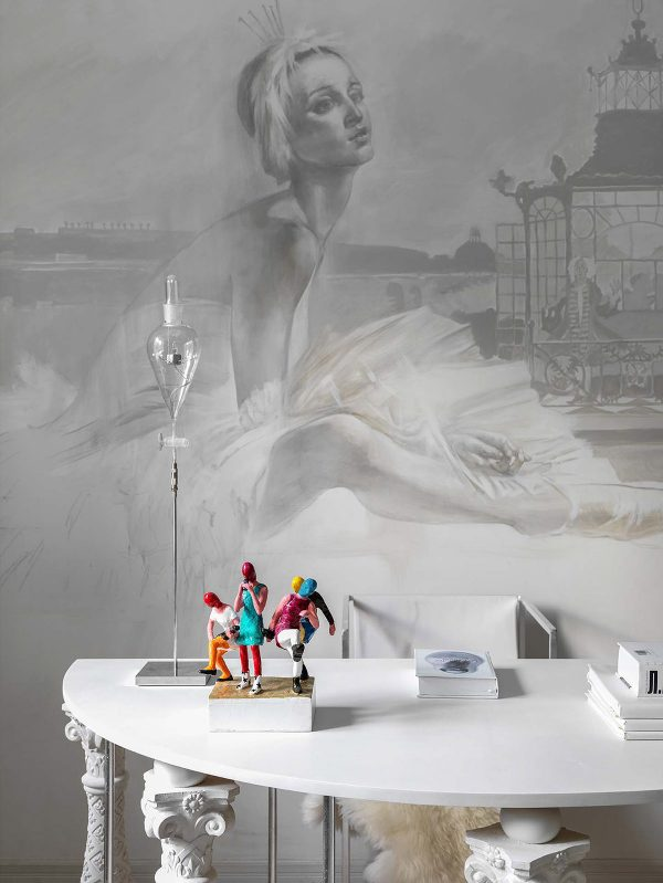 Ballet-theme-room-600x799 Home Of Surreal Interiors & Modern Empire Style Upholstery in Victoria