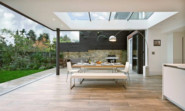 Flat-roof-light-600x361 Indoor Skylights: 37 Beautiful Examples To Tempt You To Have One For Yourself